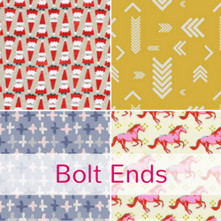 Bolt ends at The Fabric Fox
