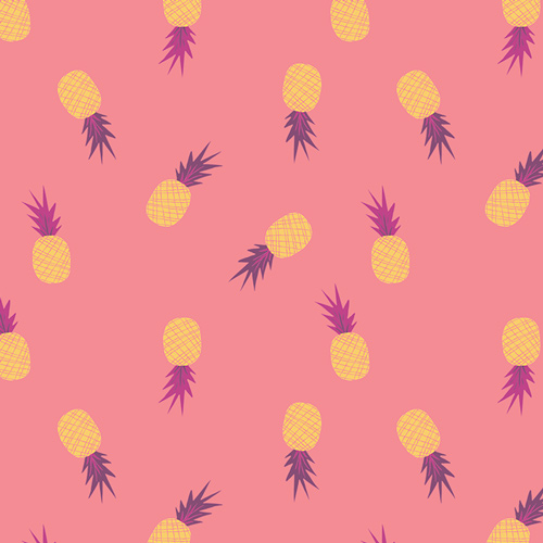 Ananas Sorbet from the Sirena collection by Art Gallery Fabric. 100% Cotton Quilting Fabric