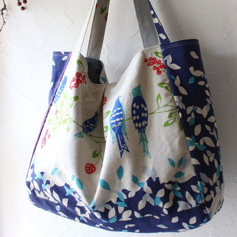 Echino Birdsong Tote Bag