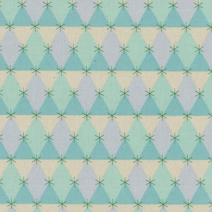 Prism Aqua from the Flutter collection by Cotton + Steel