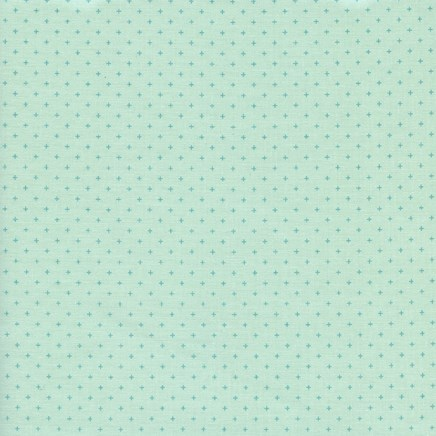 Add It Up Mint from the Basics collection by Cotton + Steel