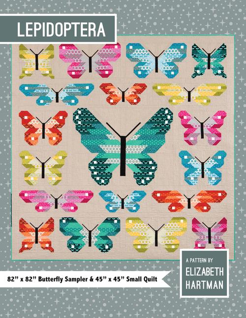 Lepidoptera Quilt Pattern by Elizabeth Hartman