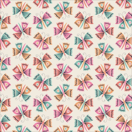 Flutter from the Tropical Garden collection by Cloud 9 Fabrics