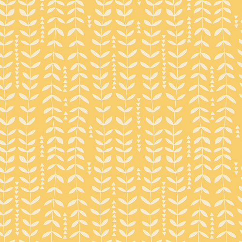 Kelp Sunshine from the Sirena collection by Art Gallery Fabric. 100% Cotton Quilting Fabric