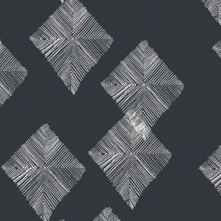 Line-Diamond-Slate-Dear-Stella-Black-and-White-Fabric