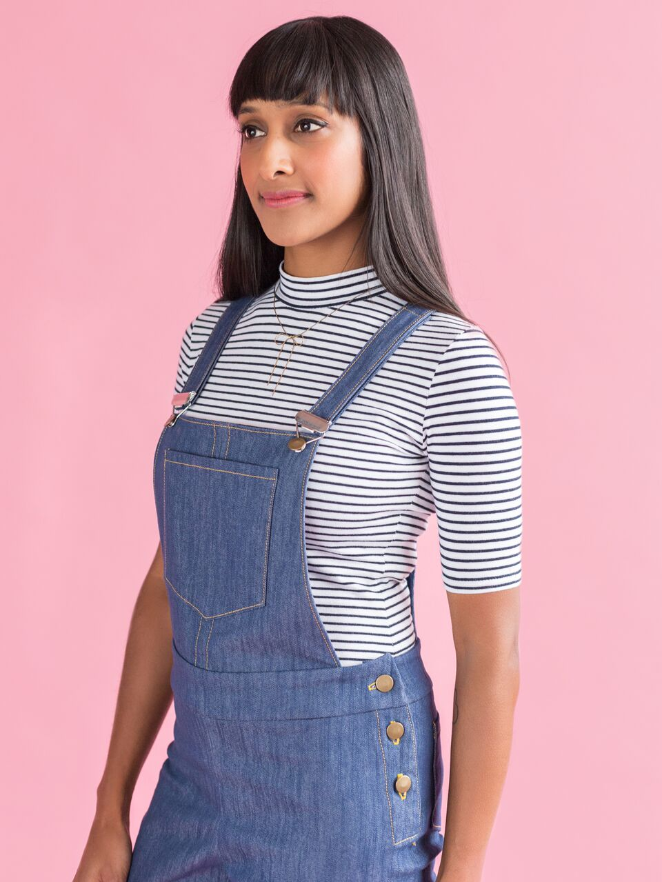 Mila Dungarees Sewing Pattern by Tilly and The Buttons
