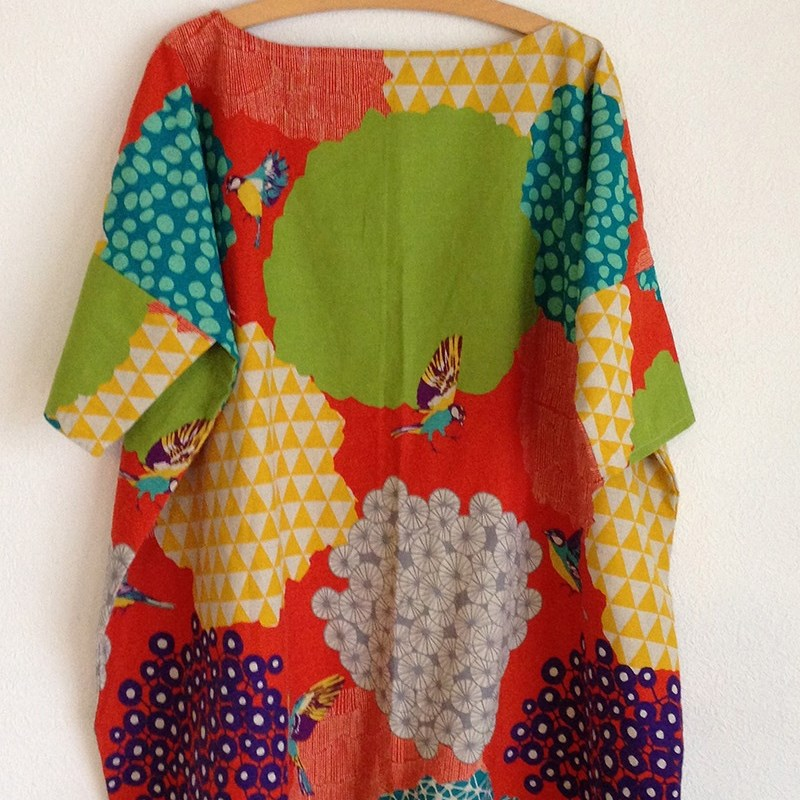 Echino Square Style Dress