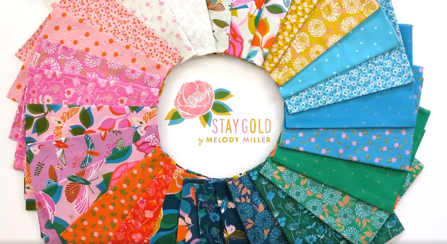 Stay Gold by Melody Miller for Ruby Star Society available to pre-order
