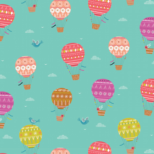 Summer Balloons from the Sweet Escape Collection by Dashwood Studio