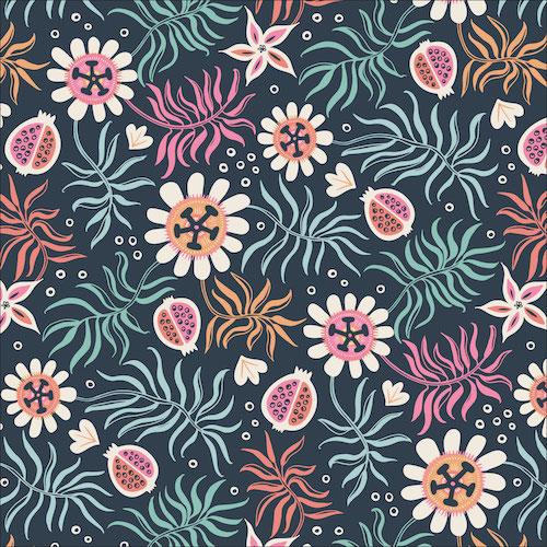Tropical Garden from the Tropical Garden collection by Cloud 9 Fabrics