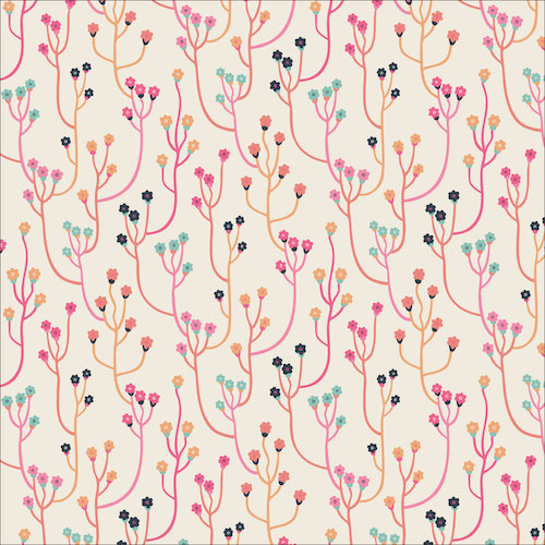 Upward from the Tropical Garden collection by Cloud 9 Fabrics